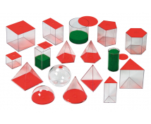 [Geometrické telesá, 17 ks]