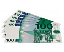[Euro bankovky - 100 euro - 100 ks]
