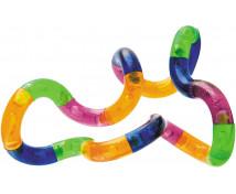 [Terapeutický hadík-Priesvitný (Ø 3,6 cm, Dĺžka: 17 cm)]