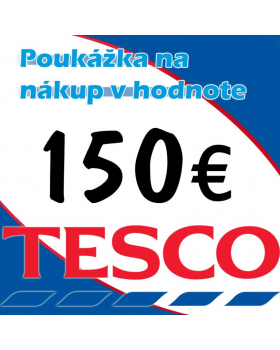 TESCO poukážka 150 eur