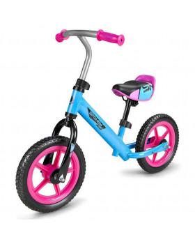 Rowerek biegowy różowo-niebieski