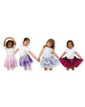 Karnevalové sukničky, sada 4 ks