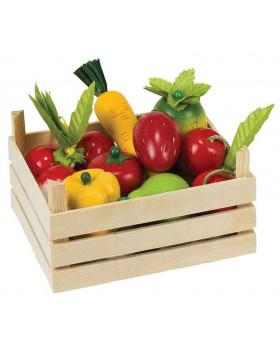 Zelenina a ovocie v prepravke