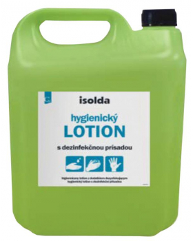 Tekutá dezinfekcia ISOLDA s alkoholom, 5 l