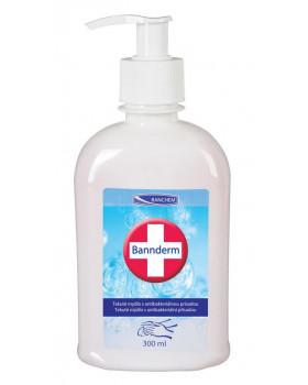 BANNderm - tekuté mýdlo s antibakteriální přísadou, 300 ml