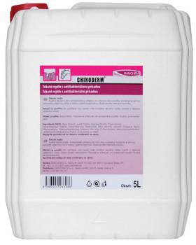 CHIRODERM - tekuté mydlo s antibakteriálnou prísadou, 5000 ml