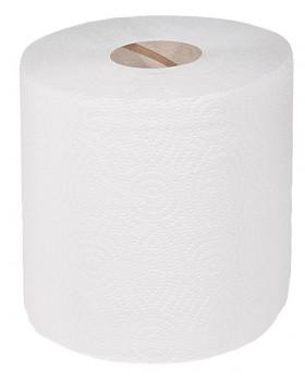 Papierové uteráky rolované so stredovým odvíjaním, 6 ks