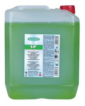 5P - čistiaci prostriedok s dezinfekčným účinkom, 5 l