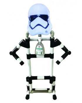 Bezdotykový stojan na dezinfekciu - detský - Robot 2