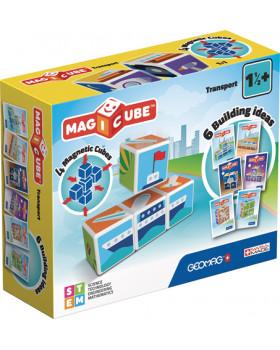 Geomag - Magicube - Doprava, 4 ks