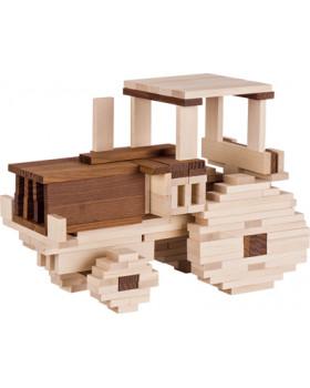Nature stavebné kocky - 4 veľkosti, 200 ks