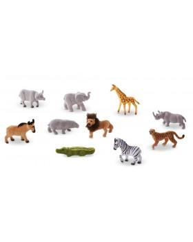 Plastová zvířátka - Safari