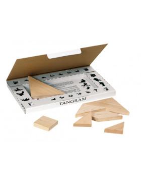 Dřevěný tangram, 7 ks