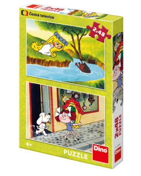 Puzzle 2v1 - Pohádkové dívky