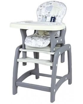 Jedálenská stolička Baby Mix 2v1 Latte
