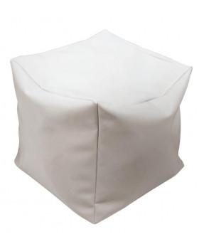 Kostka na sezení s granulátem - šedá