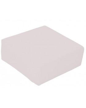 Taburetka štvorec - sivá  výška 15 cm