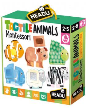 Montessori - Hmatové puzzle Zvieratká