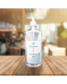 Dezinfekčný gél na ruky Emspoma s pumpičkou, 1000 ml