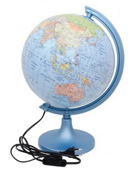 Glóbus geograficko - politický  SK 250 svietiaci