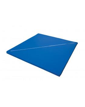 Rohová rozkládací matrace - modrá