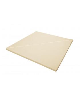 Rohová rozkládací matrace - vanilka