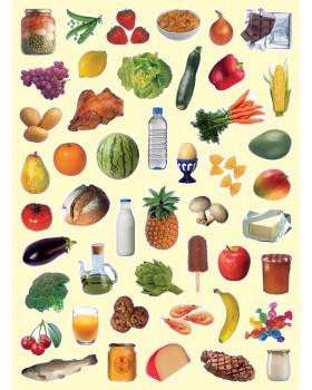 Nálepky - potrava
