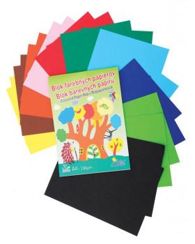 Farebný Skicár A4 - 20 listov