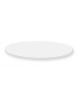 Stolová doska 25 mm, SIVÁ, kruh