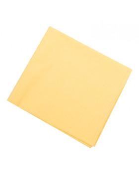 Obliečky NOMI - Jednofarebné žlté - sada na vankúš a paplón