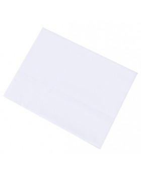 Obliečky NOMI - Jednofarebné biele - sada na vankúš a paplón