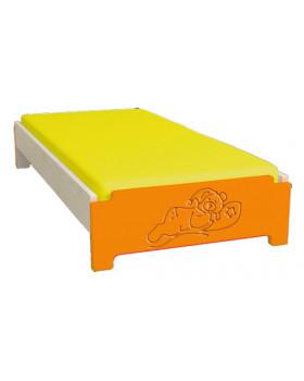 Farebné ležadlo s nízkym čelom - Spiaci medvedík