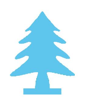 Dierkovač 3,2cm - stromček