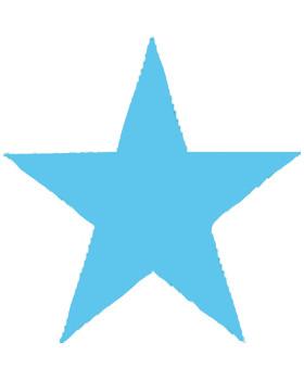 Dierkovač 3,2cm - hviezdička