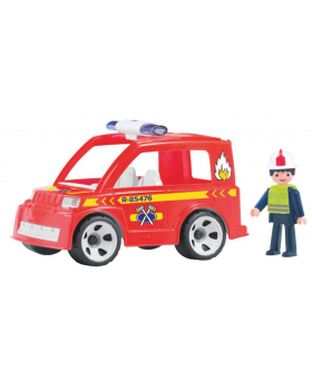 Igráček - Požiarnik s autom