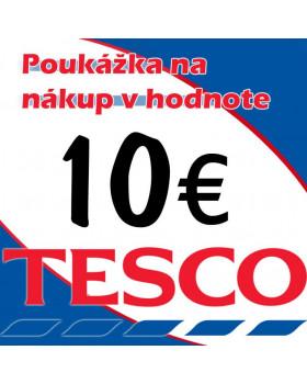 Tesco poukážky v hodnote 10 €