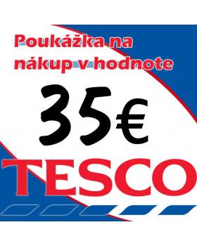 Tesco poukážky v hodnote 35 €