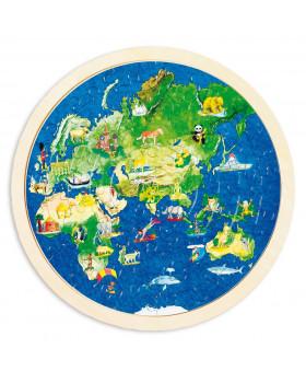 Puzzle - Zemeguľa