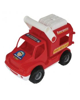 Autíčko s rúčkou - požiarnici