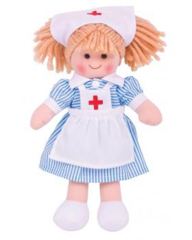 Látková bábika sestrička Nana 28 cm