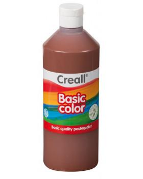 Temperové farby 500 ml - hnedá