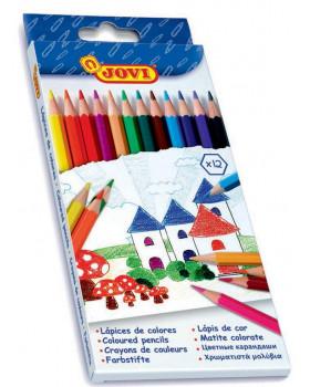 Farbičky JOVI, 12 ks