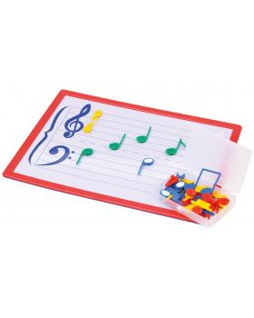 Magnetická hudobná tabuľa