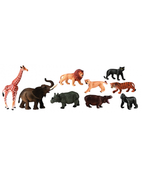 Plastové zvieratká - Afrika