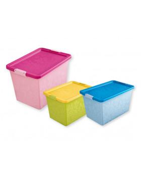 Plastový box Jasmin 5, na kolečkách