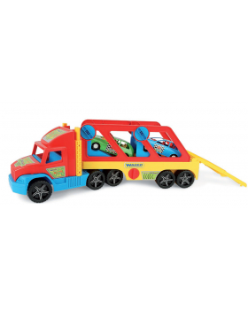 Supertruck s autíčkami