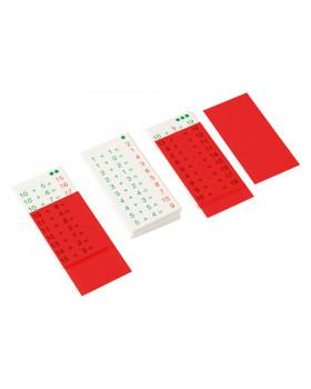 Matematické kartičky - Sčítavanie