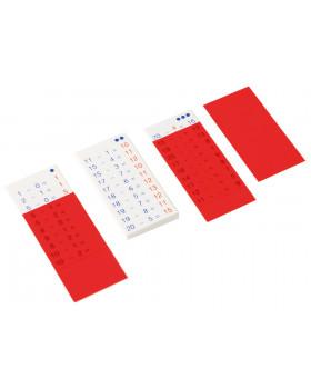 Matematické kartičky - Odčítavanie