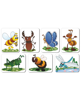Zvieratká - hmyz a iné
