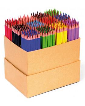 Trojhranné tenké farbičky, triedna sada